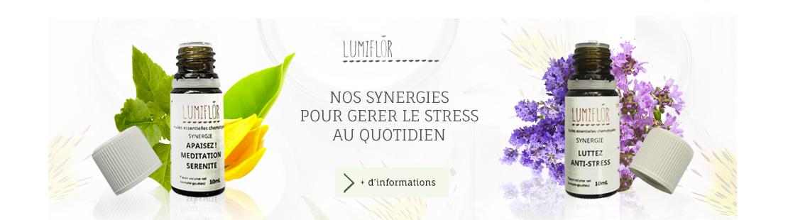 Slide huiles essentielles contre le stress