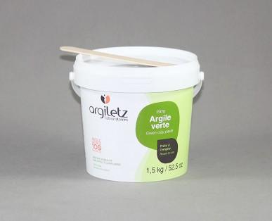 Argile Verte Pâte Pot 1 kG